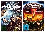Die Reise zum Mittelpunkt der Erde 1+2 [2 DVDs]