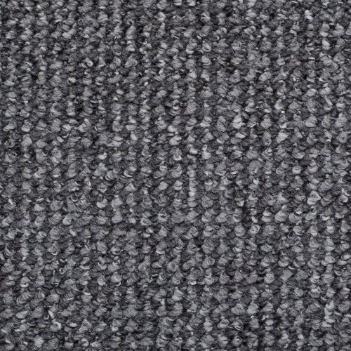 Grey  &  Silver Flecked Carpet Roll, Feltback Hardwearing Berber Loop Pile