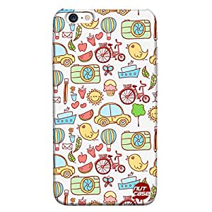 Designer iPhone 6P Case Cover Nutcase -Cute Elements