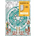 Mayas: Coloriage XXL