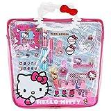 Sanrio Hello Kitty Girls Cosmetics Set In Pvc Tote Bag (16 Piece)