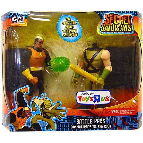 Picture of Mattel The Secret Saturdays Exclusive Action Figure Battle Pack Doc Saturday vs. Van Rook (B002L5DTKK) (Mattel Action Figures)