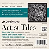 "Acquista Strathmore Artist Tiles 6""X6"" 30/Pkg-Black"