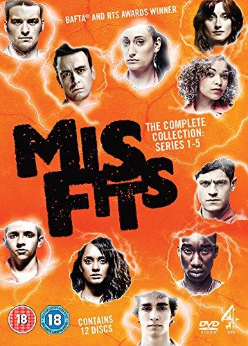 Misfits: Series 1-5 [DVD] [Edizione: Regno Unito]