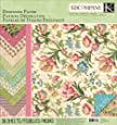 K&Company 12-Inch by 12-Inch Paper Pad, Merryweather Designer