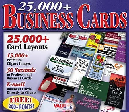25,000 Business Cards (Jewel Case)