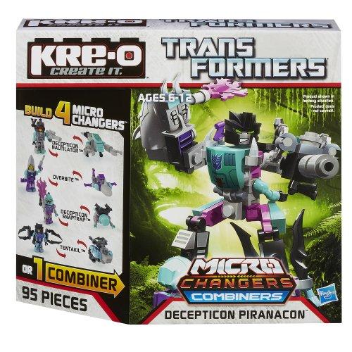 KRE-O Transformers Micro-Changers Combiners Decepticon Piranacon Construction Set (A4475) - 1