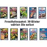 Frostfutterpaket , 3 kg, 30 Blister á 100g , Zierfischfutter, Frostfutter, Fische, Barsche, Discus, Guppys, Goldfische