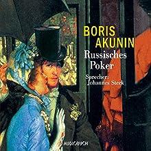 Russisches Poker (Fandorin ermittelt 5) Hörbuch von Boris Akunin Gesprochen von: Johannes Steck