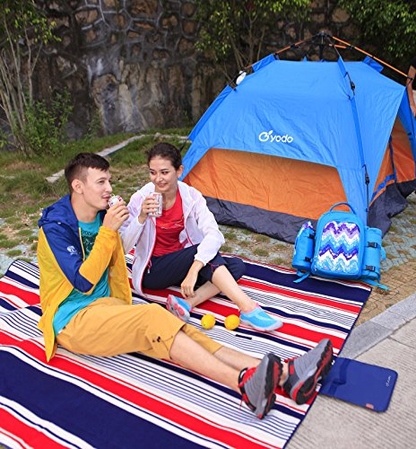 yodo extra large picknickdecke teppich wasserdicht 200 x. Black Bedroom Furniture Sets. Home Design Ideas
