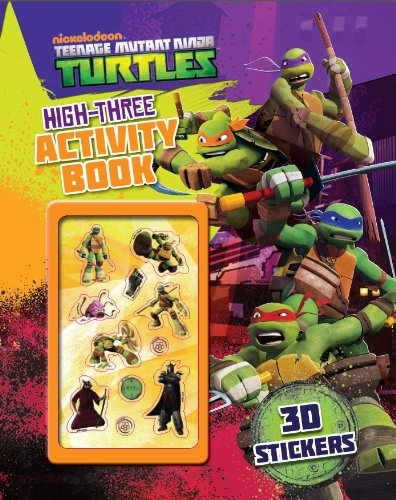 Teenage Mutant Ninja Turtles High-three Activity Book