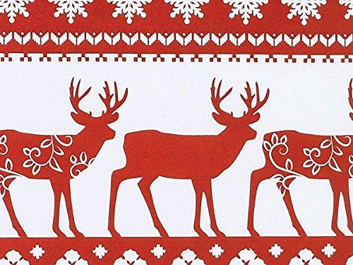 Nordic Deer Gift Wrap Roll