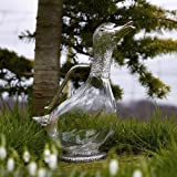 Impressive, unusual, Silverplate, Duck Water Jug/ Decanter by 'Orchid Designs'. A beautiful tableware gift (TSP052).