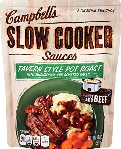 Campbell's Slow Cooker Sauces, Tavern Style Pot Roast, 13 Ounce (Pack of 6) (Beef Pot Roast compare prices)