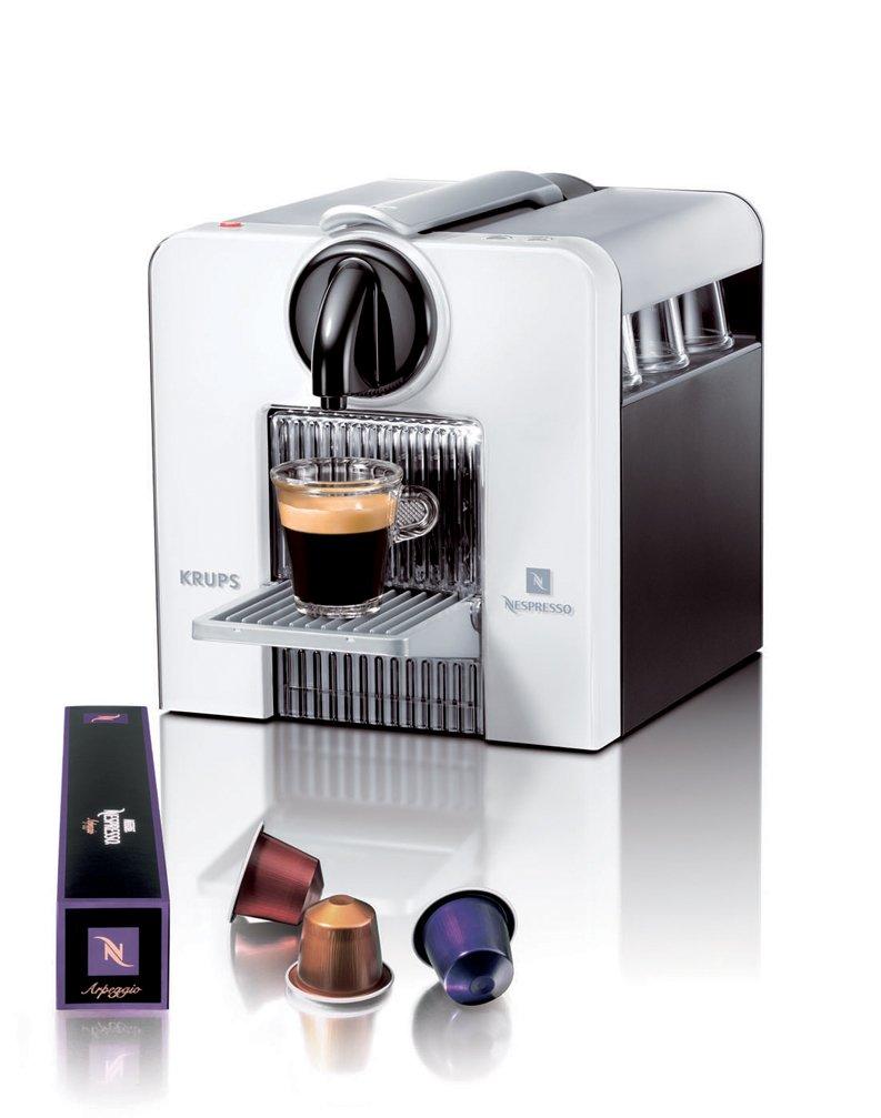 Nespresso krups le cube xn5000 xn 5000 blanca nueva for Nespresso firma