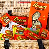 Reese's Easter Hamper - By Moreton Gifts - Easter Present - Bunny, Cups, Miniatures, Eggs, Milk and White Chocolate