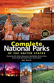 Book Cover: National Geographic Complete National Parks of the United States, 2nd Edition