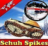 Schuh Spikes Schuhketten Gleitschutz Universal 35-46 10 Spikes