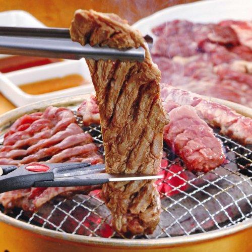 亀山社中 どっさり 焼肉セット(華咲きハラミ やわらかカルビ 1.8kg) 肉切りハサミプレゼント中