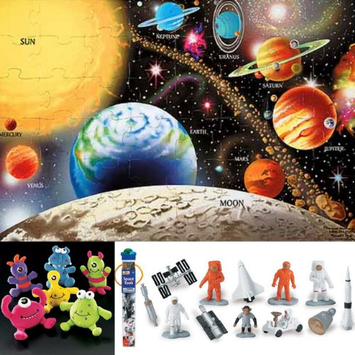 Cheap Bundles of Fun Melissa & Doug Solar System Floor Puzzle with Space Toob Bundle of 3 Items with **BONUS** by Bundles of Fun (B0052AFJQS)