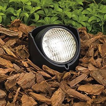 kichler lighting 15488bk 12 volt low voltage par 36 in. Black Bedroom Furniture Sets. Home Design Ideas