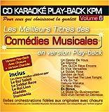 echange, troc Le Soldat Rose, Le Roi Lion, Aladdin, Le Roi Soleil, Starmania - CD Karaoké Play-Back KPM Vol. 06 'Comédies Musicales'