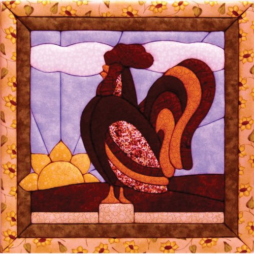 Quilt Magic 12-Inch by 12-Inch Rooster Kit