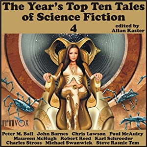 The Year's Top-Ten Tales of Science Fiction 4 Audiobook