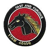 自衛隊グッズ ワッペン 小牧基地 第404飛行隊 パッチ ベルクロ付