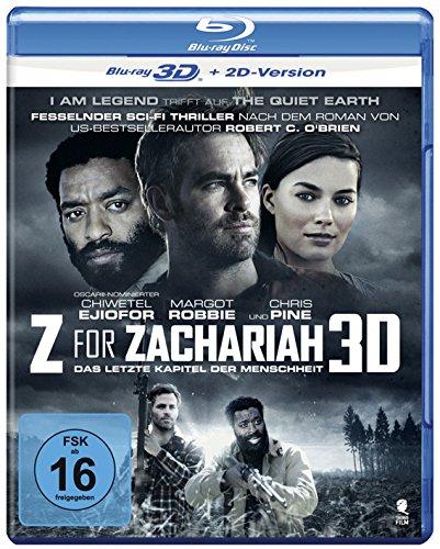Z for Zachariah - Das letzte Kapitel der Menschheit [3D Blu-ray + 2D Version]