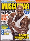 img - for MUSCLEMAG Magazine (Dec 2010) TONEY FREEMAN: How the X-Man Jacks up the Bi's book / textbook / text book