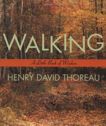 Walking (Little Books of Wisdom)