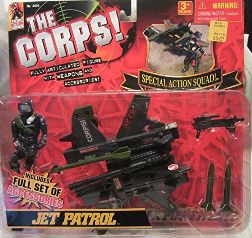 THE-CORPS-Action-Squad-JET-PATROL-wFigure-Weapons-and-Accessories-Lanard