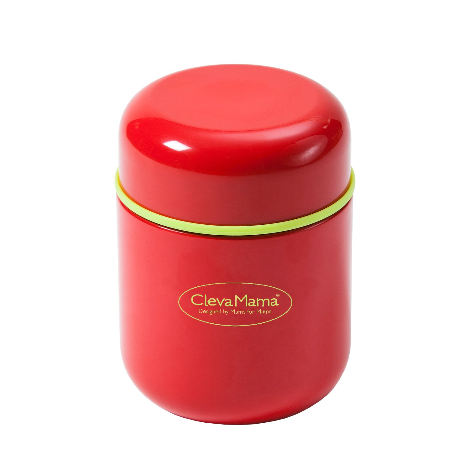 Upto 25% off on International Baby Products By Amazon | Clevamama Thermal Food and Drink Flask (Red) @ Rs.949