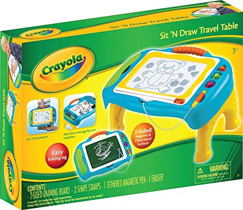 Crayola Sit N Draw Travel Table Office Supplies