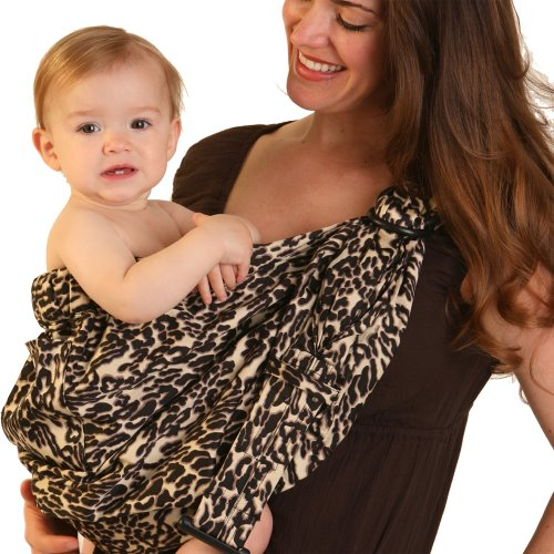 8f26438144f Balboa Baby Adjustable Sling by Dr. Sears - Leopard Feature