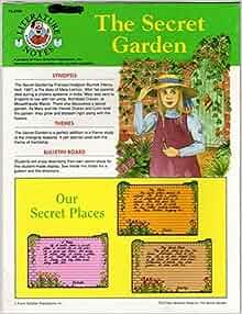 The Secret Garden Literature Notes Judy Shull Hiebenthal Tani Brooks Johnson 9780867342451