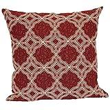 Brentwood Originals 6001 Marcola 18 Inch Decorative pillow, Cardinal