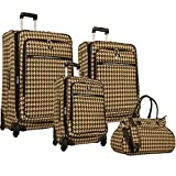 Anne Klein Boston 4 piece Spinner Luggage Set