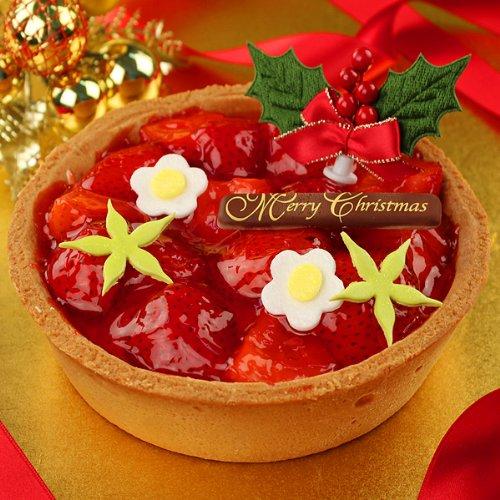 花咲く!大粒イチゴのごろごろタルトケーキ