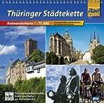 Th�ringer St�dtekette, Radwanderkarte...