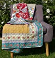Greenland Home Geneva Quilted Throw