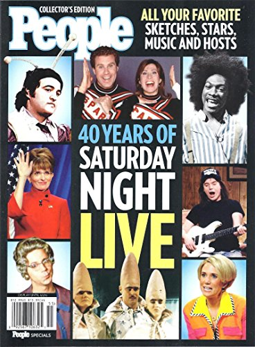 PEOPLE 40 YEARS OF SATURDAY NIGHT LIVE COLLECTOR'S EDT. [Single Issue Magazine] 2015 hoodz dvd magazine issue 1