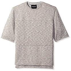 nANA jUDY Men's Sweat Shirt, Grey Marl, M