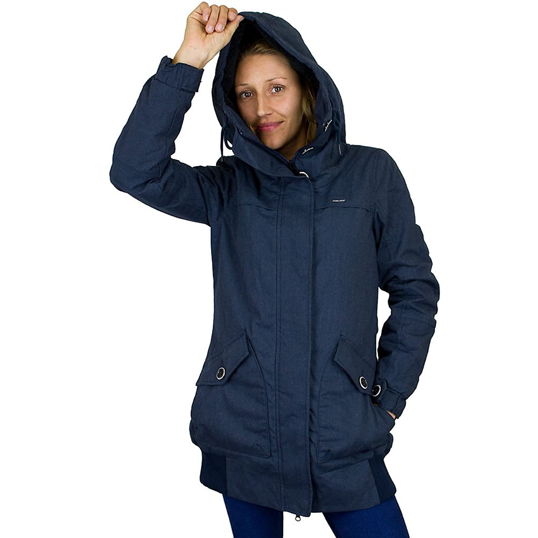 Ragwear Damen-Mantel Hunter night blue