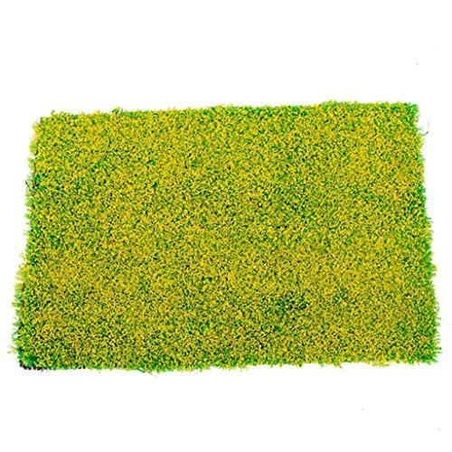 grass-mat-chemin-de-fer-modele-reseau-de-trains-vert-20-x-30cm-avec-fleur-jaune
