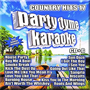 Party Tyme Karaoke - Country Hits 17 [16-song CD+G]