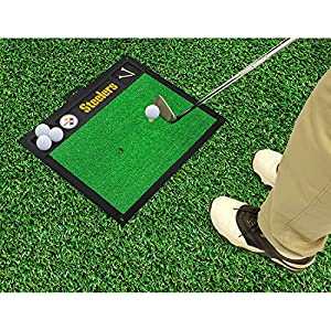 Pitsburgh Steelers Nfl Golf Hitting Mat (20in L X 17in W) from FAN MATS