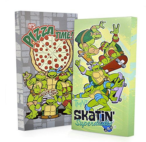 Nickelodeon Teenage Mutant Ninja Turtles Canvas Wall Art (2 Pack), 7 x 14 (Teenage Mutant Ninja Turtles Art compare prices)