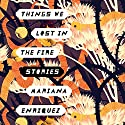 Things We Lost in the Fire: Stories Audiobook by Mariana Enriquez Narrated by Tanya Eby